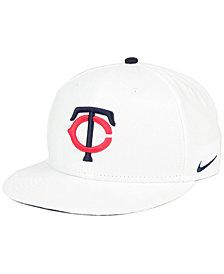 Nike Minnesota Twins White Ripstop Snapback Cap