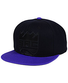 Mitchell & Ness Sacramento Kings Cropped Satin Snapback Cap