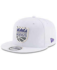 New Era Sacramento Kings Enamel Badge 9FIFTY Snapback Cap