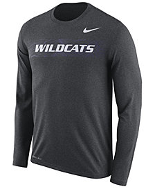 Nike Men's Kansas State Wildcats Legend Sideline Long Sleeve T-Shirt 2018