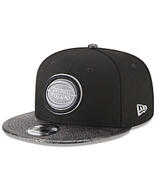 New Era Detroit Pistons Snakeskin Sleek 9FIFTY Snapback Cap