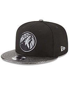 New Era Minnesota Timberwolves Snakeskin Sleek 9FIFTY Snapback Cap