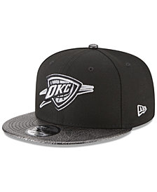 New Era Oklahoma City Thunder Snakeskin Sleek 9FIFTY Snapback Cap