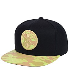Mitchell & Ness Denver Nuggets Natural Camo Snapback Cap