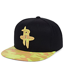 Mitchell & Ness Houston Rockets Natural Camo Snapback Cap