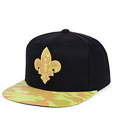 Mitchell & Ness New Orleans Pelicans Natural Camo Snapback Cap