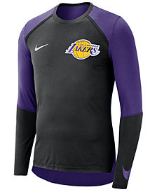 Nike Men's Los Angeles Lakers Dry Long Sleeve Top