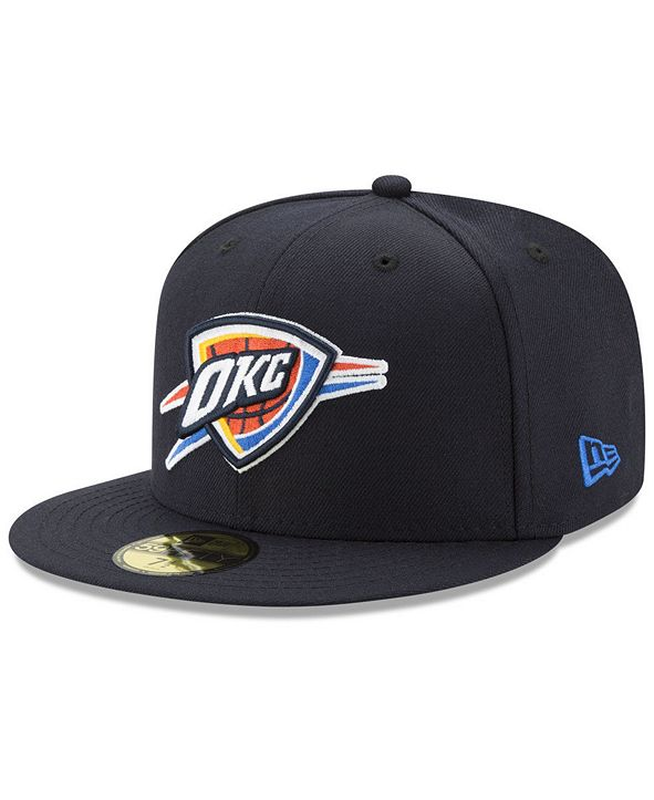 New Era Oklahoma City Thunder Basic 59FIFTY Fitted Cap 2018