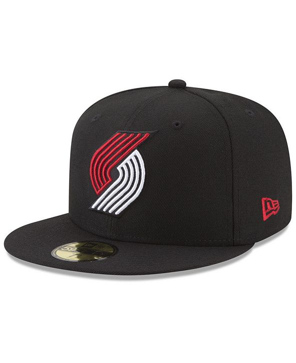 New Era Portland Trail Blazers Basic 59FIFTY Fitted Cap 2018