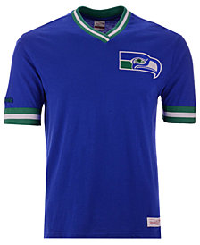 Mitchell & Ness Men's Seattle Seahawks Overtime Win Vintage T-Shirt