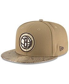 New Era Brooklyn Nets Snakeskin Sleek 59FIFTY FITTED Cap