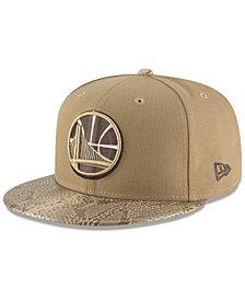 New Era Golden State Warriors Snakeskin Sleek 59FIFTY FITTED Cap