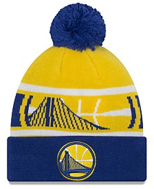 New Era Boys' Golden State Warriors Jr. Callout Pom Hat