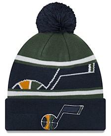 Boys' Utah Jazz Jr. Callout Pom Hat