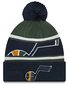 New Era Boys' Utah Jazz Jr. Callout Pom Hat