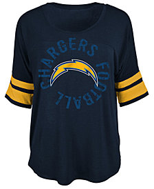 5th & Ocean Women's San Diego Chargers Circle Logo T-Shirt