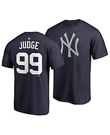Majestic Men's Aaron Judge New York Yankees Player's Weekend Name and Number T-Shirt