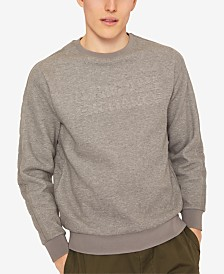 A|X Armani Exchange Men's Fleece Logo Sweatshirt