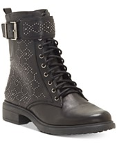 ea8307dd66f Vince Camuto Tanowie Lace-Up Booties