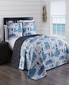 Stone Harbor 3-Pc. Quilt Sets