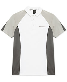 Armani Exchange Mens Colorblocked Polo
