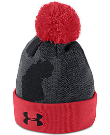 Under Armour Big Boys Pom-Pom Beanie Hat