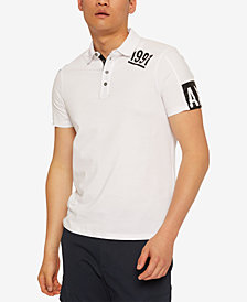 Armani Exchange Mens 1991 Polo