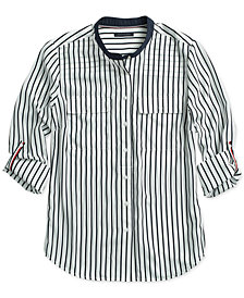 Tommy Hilfiger Women's Striped Fridae Top, from The Adaptive Collection