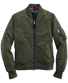 Tommy Hilfiger Women's Lawrence Bomber Jacket from The Adaptive Collection