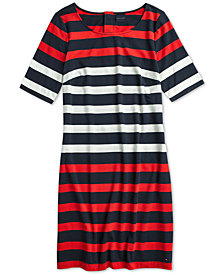 Tommy Hilfiger Women's Stella Striped Dress, from The Adaptive Collection