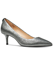 MICHAEL Michael Kors Women's Flex Kitten-Heel Pumps