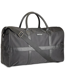 Receive a FREE Duffel Bag with any large spray purchase from the Kenneth Cole fragrance collection