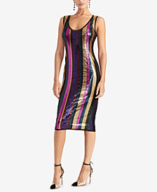 RACHEL Rachel Roy Veda Sequined Sheath Dress, Created for Macy's