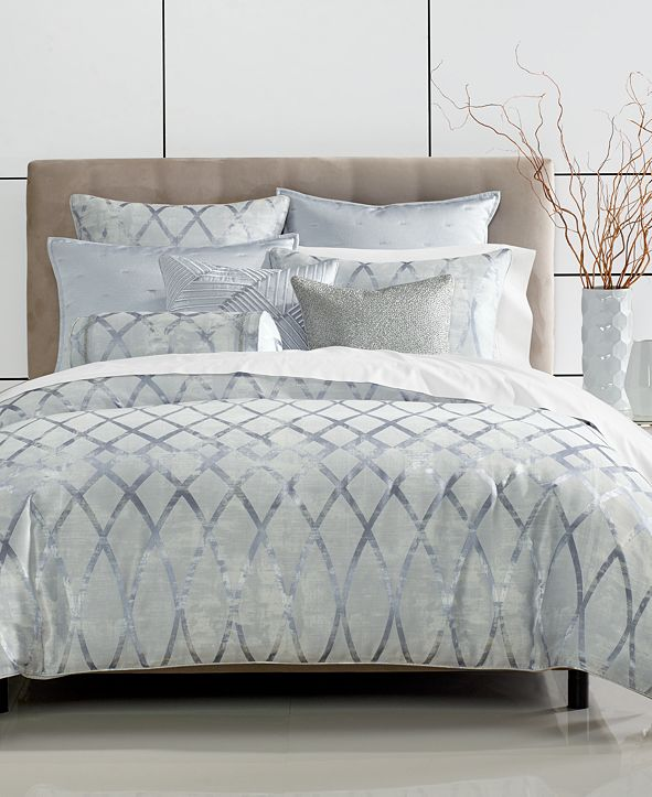 Hotel Collection Dimensional King Duvet Cover, Created for Macy's