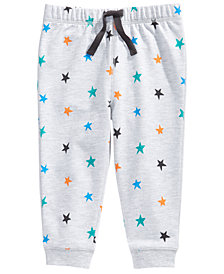 First Impressions Baby & Toddler Boys Star-Print Joggers, Created for Macy's