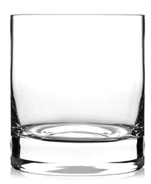 Luigi Bormioli Glassware Set of 4 Classico Double Old Fashioned Glasses