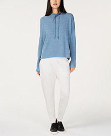 Eileen Fisher Hooded Sweater & Ankle Pants