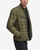 5b922f0e11d90 Marc New York Men's Grymes Packable Racer Jacket