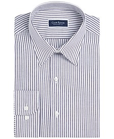 Men's Classic/Regular-Fit Stripe Dress Shirt, Created For Macy's