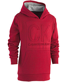 Calvin Klein Little Boys Shadow Fleece Hoodie
