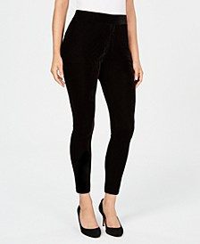 Velvet Leggings, Created for Macy's