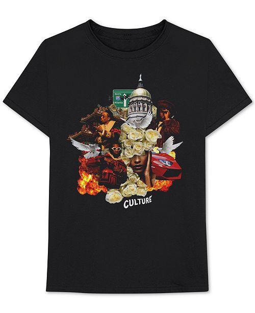 5b11111e Bravado Migos Culture Album Cover Men's Graphic T-Shirt & Reviews ...