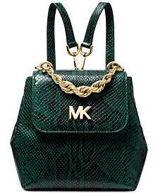 MICHAEL Michael Kors Mott Chain Python Convertible Backpack