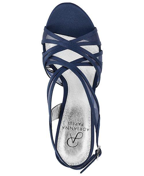 07cae03a2ee Adrianna Papell Adri Platform Strappy Sandals   Reviews - Sandals ...