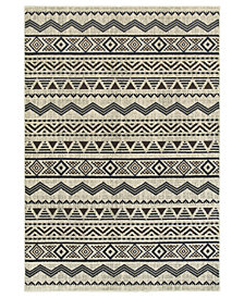 "Oriental Weavers Linden 7824A Grey/Blue 9'10"" x 12'10"" Area Rug"