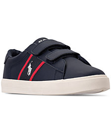 Polo Ralph Lauren Little Boys' Geoff EZ Casual Sneakers from Finish Line
