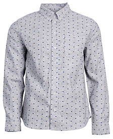 United by Blue Men's Bison Print Button-Down Shirt from Eastern Mountain Sports