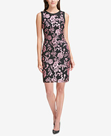 Tommy Hilfiger Sequined Sheath Dress