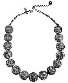 "kate spade new york Pavé Orb Collar Necklace, 18"" + 3"" extender"