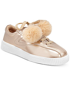 Tretorn Little & Big Girls Nylite Pom Pom Sneakers